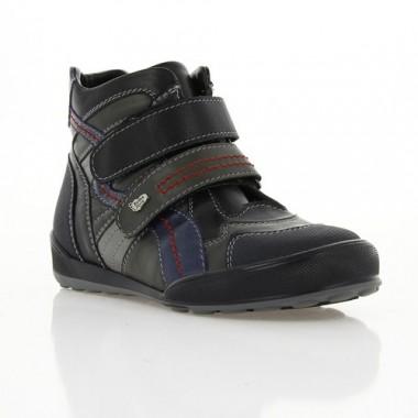 Купить Ботинки детские серые, кожа (001М_1 сір. Шк) Roma style по лучшим ценам
