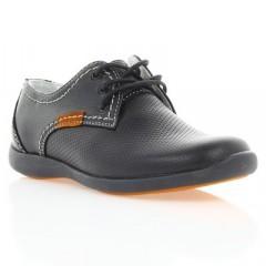 Туфли детские черные , кожа ( 021М чн. Шк ) Romastyle