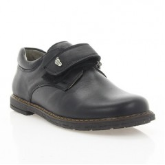 Туфли детские черные, кожа (051/1М чн. Шк) Roma style