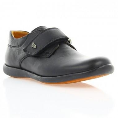 Купить Туфли детские черные, кожа (051М чн. Шк) Roma style по лучшим ценам