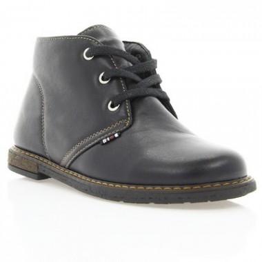 Купить Ботинки детские, черные, кожа (057М чн. Шк) Roma style по лучшим ценам