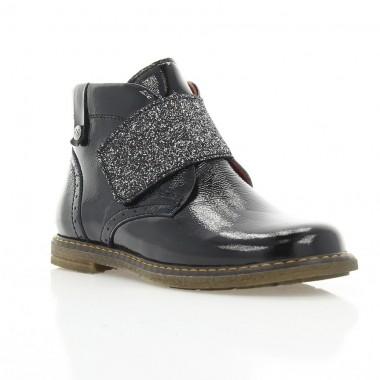 Ботинки детские, черные, лакированная кожа (058М чн. Лк) Roma style