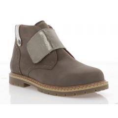 Ботинки детские, коричневые, кожа (058М кор. Шк) Roma style