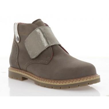 Купить Ботинки детские, коричневые, кожа (058М кор. Шк) Roma style по лучшим ценам