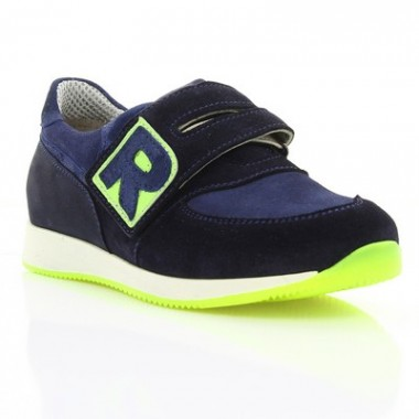 Купити Кросівки дитячі, сині, замш (062М т.сн. Зш) Romastyle за найкращими цінами