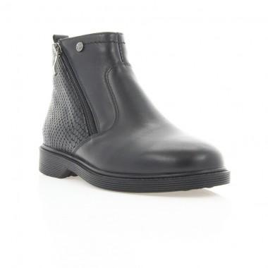 Купити Черевики дитячі чорні, шкіра (067М чн. Шк (шерсть)) Roma style за найкращими цінами