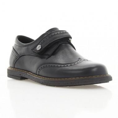 Купить Туфли детские черные, кожа (073М чн. Шк) Roma style по лучшим ценам
