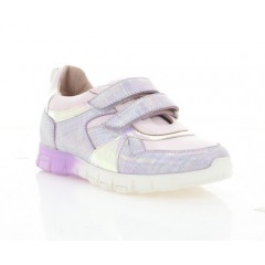 Кросівки дитячі, фіолетові, шкіра (081М фіол. Шк) Roma style