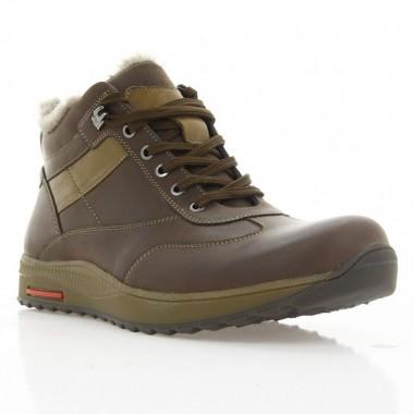 Ботинки мужские коричневые, нубук (1004-18 кор. Нб (шерсть)) Roma style