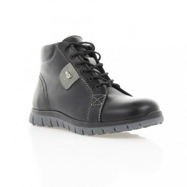 Купить Ботинки детские черные, кожа (1117М чн. Шк (шерсть)) Roma style по лучшим ценам