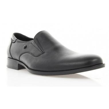 Купить Туфли мужские черные, кожа (1130/16 чн. Шк) Romastyle по лучшим ценам