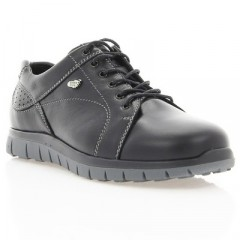 Кросівки дитячі чорні,  шкіра (1161М чн. Шк) Roma style