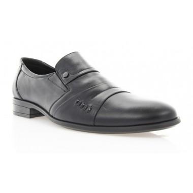 Купить Туфли мужские черные , кожа ( 1179/16 чн. Шк ) Roma style по лучшим ценам
