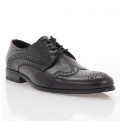 Туфлі чоловічі бордові, шкіра (1183-19 борд. Шк) Roma style