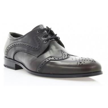 Купить Туфли мужские бордовые кожа (1183/17 борд. Шк) Roma style по лучшим ценам