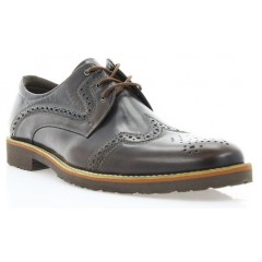 Туфлі чоловічі коричневі, шкіра (1183_ЕВА кор. Шк) Roma style