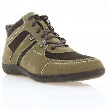 Купить Ботинки мужские светло коричневые, нубук (1220 св.кор Нб (шерсть)) Romastyle по лучшим ценам