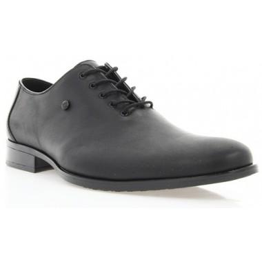 Купить Туфли мужские черные, кожа (1309 чн. Шк) Roma style по лучшим ценам