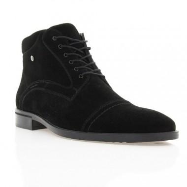 Купить Ботинки мужские черные, замш (1433/16 чн. Зш (шерсть)) Roma style по лучшим ценам