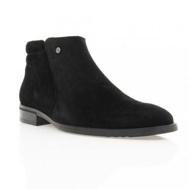 Купить Ботинки мужские черные, замш (1451/16 чн. Зш (шерсть)) Romastyle по лучшим ценам