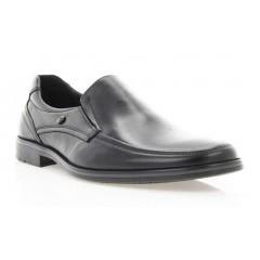 Туфли мужские черные, кожа ( 1503/16/1 чн. Шк ) Roma style