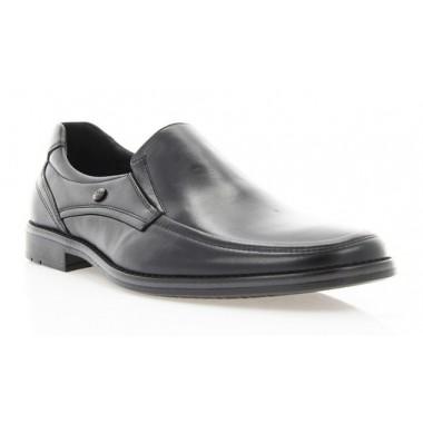 Купить Туфли мужские черные, кожа ( 1503/16/1 чн. Шк ) Roma style по лучшим ценам