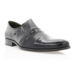 Туфлі чоловічі чорні, шкіра (1507/17 чн. Шк+Флор) Roma style