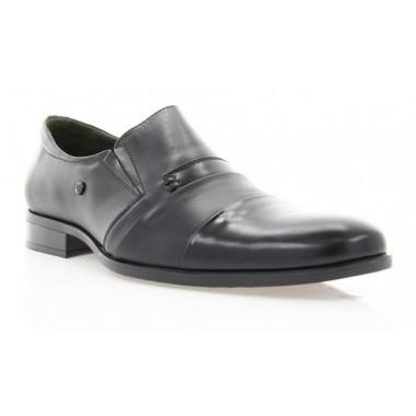 Купить Туфли мужские черные, кожа (1507/17 чн. Шк+Флор) Roma style по лучшим ценам