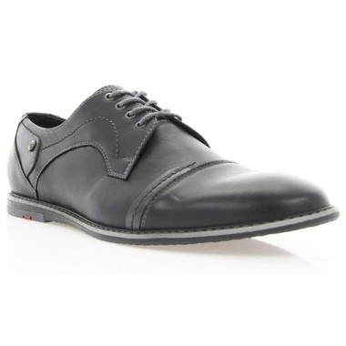 Купити Туфлі чоловічі чорні, шкіра (1509 чн. Шк) Romastyle за найкращими цінами