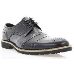 Туфли мужские черные, кожа (1510_ЕВА чн. Шк) Roma style