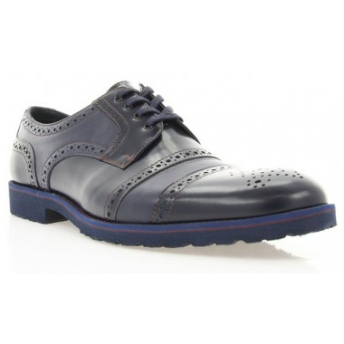 Купить Туфли мужские синие, кожа (1510_ЕВА сн . Шк) Roma style по лучшим ценам
