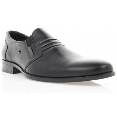 Купить Туфли мужские черные , кожа ( 1512 чн . Шк ) Romastyle по лучшим ценам