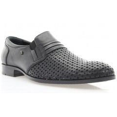 Туфли мужские черные , кожа ( 1512D чн. Шк ) Romastyle