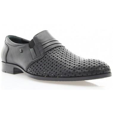 Туфли мужские черные , кожа ( 1512D чн. Шк ) Roma style