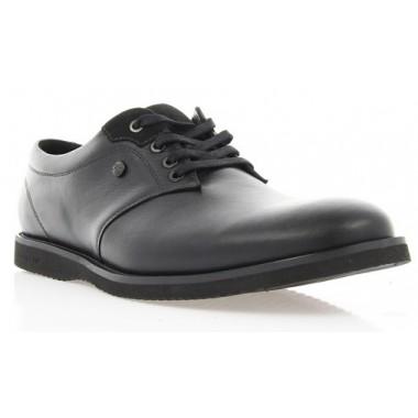 Купити Туфлі чоловічі чорні, шкіра (1530_ЕВА чн. Шк_чн р) Roma style за найкращими цінами