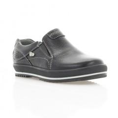 Туфли детские черные , кожа ( 1532М чн . Шк ) Romastyle