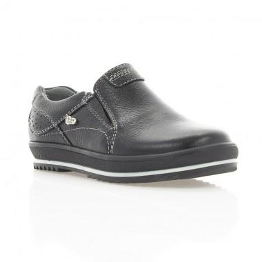 Купить Туфли детские черные , кожа ( 1532М чн . Шк ) Romastyle по лучшим ценам
