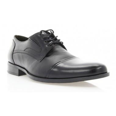Купити Туфлі чоловічі чорні, шкіра (1548/17 чн. Шк+Флор) Roma style за найкращими цінами