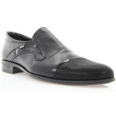 Туфлі чоловічі чорні, шкіра (1549/16 чн. Шк) Roma style