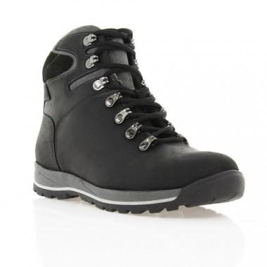 Купить Ботинки подростковые черные, кожа (1600П чн. Шк (шерсть)) Roma style по лучшим ценам