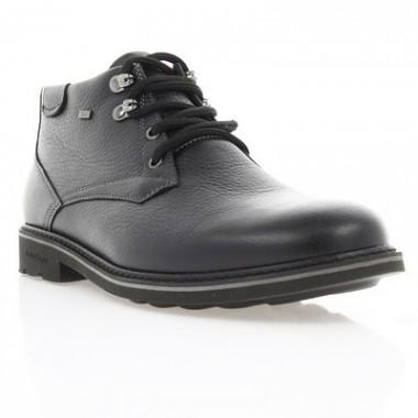 Купить Ботинки мужские черные, кожа (1617_ЕВА чн. Фл (шерсть)) Roma style по лучшим ценам