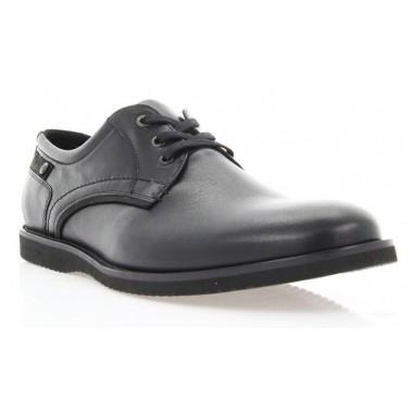 Купити Туфлі чоловічі чорні, шкіра (1700_ЕВА чн. Шк_чн р) Roma style за найкращими цінами