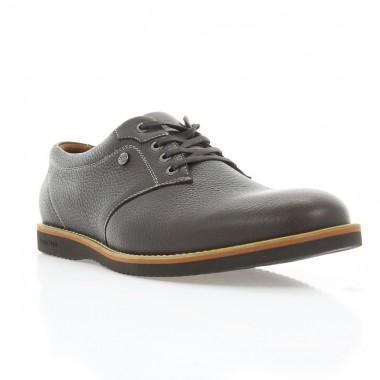 Купити Туфлі чоловічі коричневі, шкіра (1700_ЕВА кор. Фл) Roma style за найкращими цінами