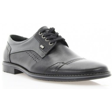 Купити Туфлі чоловічі чорні, шкіра (1701 чн. Шк) Romastyle за найкращими цінами