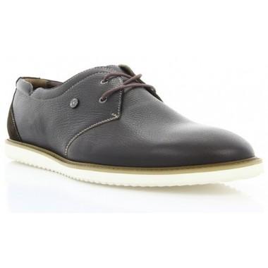 Купить Туфли мужские коричневые, кожа (1708_ЕВА кор. Шк) Romastyle по лучшим ценам