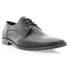 Туфли мужские черные , кожа ( 1720 чн . Шк ) Romastyle
