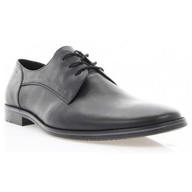 Купить Туфли мужские черные , кожа ( 1720 чн . Шк ) Roma style по лучшим ценам