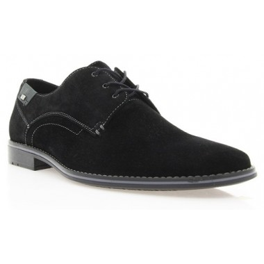 Купить Туфли мужские черные, замша (1721 чн. Зш) Roma style по лучшим ценам