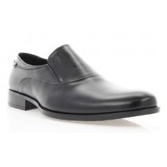 Туфли мужские черные, кожа (1722/17 чн. Шк) Roma style