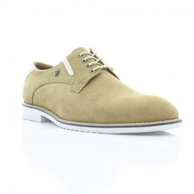 Купити Туфлі чоловічі бежеві, нубук (1829_ЕВА бж. Нб) Roma style за найкращими цінами